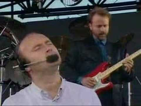 Phil Collins - In the air tonight (live) Video Clip