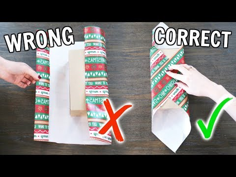 Xxx Mp4 Life Changing Gift Wrapping Hacks 3gp Sex