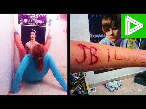 Download 10 INSANE Justin Bieber Fans You Won't Believe Exist! HD Mp4 3GP Video and MP3