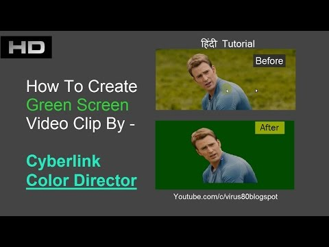 Xxx Mp4 How To Convert Normal Video To Green Screen Video In Color Director हिंदी 3gp Sex