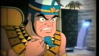 Moses And Pharoah - ( Children Christian Bible Cartoon Movie )