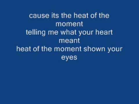 Xxx Mp4 Heat Of The Moment Asia With Lyrics 3gp Sex
