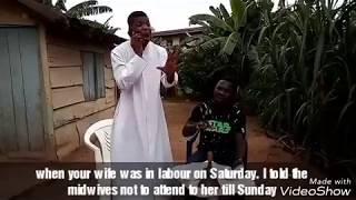 [Ye ma Sun, Gba Ko Je]  Comedy Skit by Alfa Sule Ayo Ajewole a.k.a