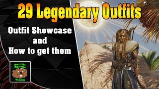 Assassin Creed Origins - My 29 Legendary Outfits and how to get them