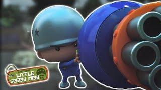 Cheeseballs Vs. Kale 2 | Ep. 4 | Awesome Little Green Men