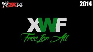 XWF Free for All 2014 - Full PPV | WWE 2K14