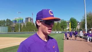 Logan Davidson post Georgia Tech series