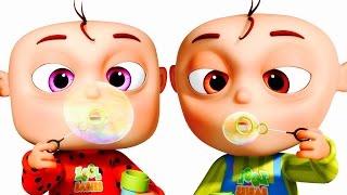 Five Little Babies Blowing Bubbles   Five Little Babies Collection   Zool Babies Fun Songs
