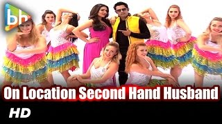 On Location Shoot Of Title Song Of 'Second Hand Husband'