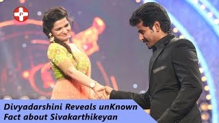 Anchor Divyadarshini reveals unKnown fact about Sivakarthikeyan | Vijay Tv | DD | Pluz Media Tamil