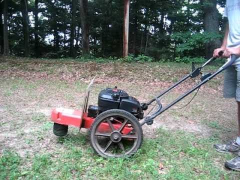 DR Trimmer Mower Electric Start 6.5hp OHV
