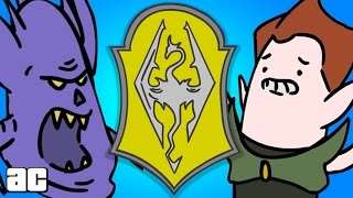 Elder Scrolls ENTIRE Storyline in 3 Minutes! (Elder Scrolls Animation)