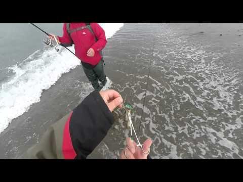 ловля спиннингом с берега на воблеры