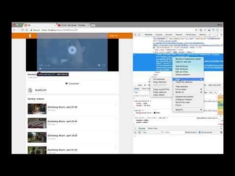 How to download video from ok.ru (Odnoklassniki) | ดาวน์โหลดจาก ok.ru