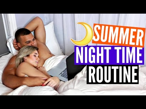 NIGHTTIME ROUTINE w/ Boyfriend (REALISTIC)