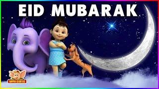 Eid Mubarak wishes to everyone | APPU the Yogic Elephant wishes Happy Ramadan | Eid ul-fitr (4K)
