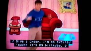 Blue's Clues Happy Birthday Happy Birthday To Me Me Me (Joe)