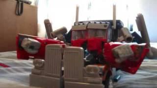 Transformers en mi cuarto