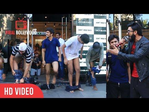 Xxx Mp4 OMG Crazy Fans Of Ranveer Singh Don T Hold Back Dump Jack Jones 3gp Sex