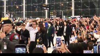 180318 EXO at Suvarnabhumi Airport heading back to korea
