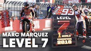 Marc Márquez Levels Up to Win His 7th World-Class Tile | MotoGP 2018