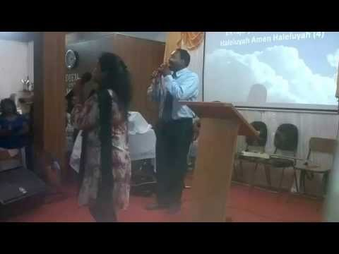 Praise song in Kreol and Hindi in Mauritius Persis John