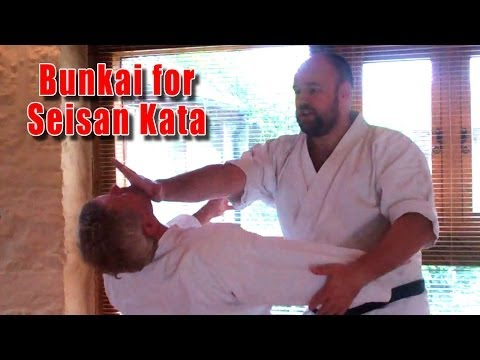 Practical Kata Bunkai Thoughts on bunkai for Goju Ryu Shito Ryu Seisan