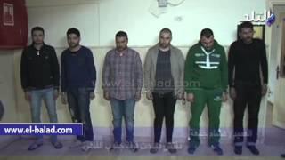 صدى البلد   مباحث قسم شرطة المقطم بالقاهرة تتمكن من ضبط تشكيل عصابى تخصص فى سرقة المواطنين بالإكراه