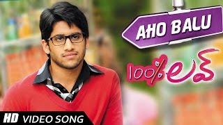 Aho Balu Video song || 100 % Love Movie || Naga Chaitanya,  Tamannah