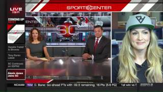 Alexis Jones talks to SportsCenter about #ProtectHer