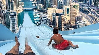 Top 5 LONGEST WATERSLIDES IN THE WORLD!