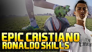 Learn Cristiano Ronaldo Skills 2015 - CR7 Signature Tricks Tutorial | Footballskills98