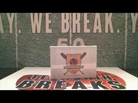 5/18/17 - 2017 Hit Parade Series 2 Gold Baseball 1 Box Break