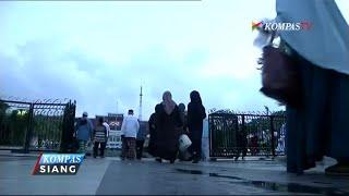 Tri Rismaharini Ikut Shalat Ied di Balai Kota Surabaya