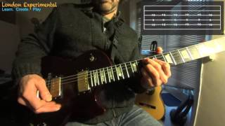 Movember Guitar Lesson - Cosmic Debris