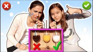 DESAFIO NÃO ESCOLHA O CANUDINHO ERRADO!! (Don't Choose The Wrong Straw Challenge)