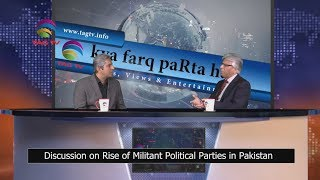 Discussion on Rise of Militant Political Parties in Pakistan