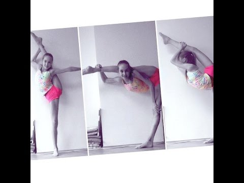 Stretching Routine (Cheerleading, Dance, Gymnastics, Ballet)