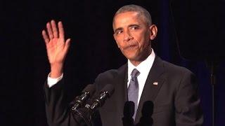Obama nimmt Abschied: Tränen, Sorge und Zuversicht