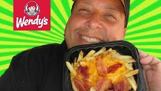Wendy's Baconator Fries REVIEW!