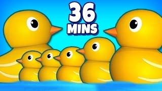 Six Little Ducks   Nursery Rhymes   Plus More Popular Nursery Rhymes For Kids By RaggsTV