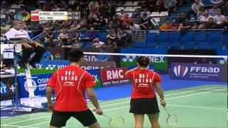 SF - XD - Tontowi Ahmad/Liliyana Natsir vs Xu Chen/Ma Jin - Yonex Badminton French Open 2011