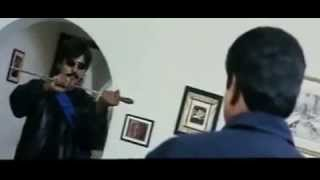 Sai Kumars South Indian Style Funny Fight Action Scene   Yeh Diljale Movie