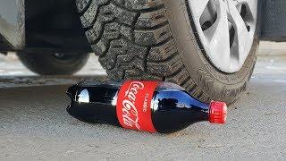 EXPERIMENT: CAR VS COCA COLA