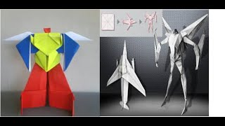 Origami Robot Power Ranger & Origami Robot Transformer | How to Make Origami Paper