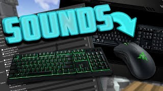 Hand Cam - Keyboard & Mouse Sounds | Minecraft