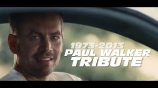 See You Again Paul Walker | Tribute Furious 7