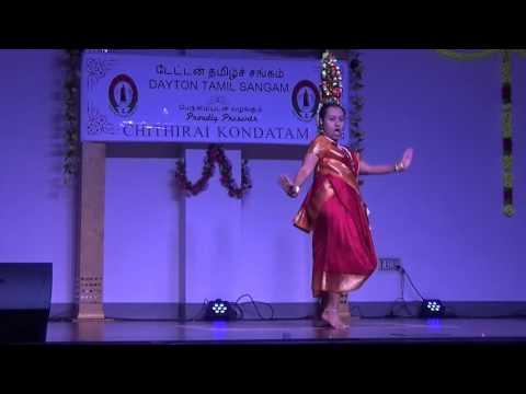 Vathana Vathana vadivelu na dance - Karagattam Performance by Poorani at Dayton Tamil Sangam