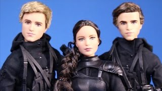 New Hunger Games Mockingjay Part 2 Movie 3 Dolls Review Unboxing Barbie Collection