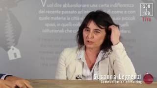 500X100TALK   Giorgio Tartaro con Susanna Legrenzi